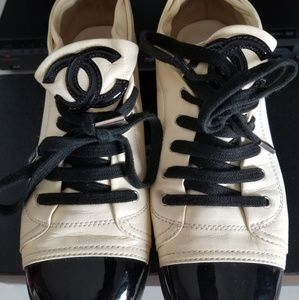 Chanel Laceup sneakers